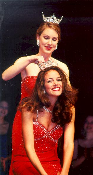 Tiffany Dupont Crowned as Miss UGA 2002